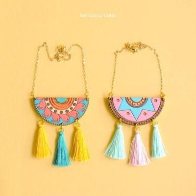 Cada detalle hecho cuidadosamente a mano, creando piezas únicas y especiales. Somos Cocco Color.  #serCoccocolor #color #accesoriosdemadera #colombia #identidad #fashion #trendy #moda #modafemenina #diseñoindependiente #diseño #blogger #fashionblogger...