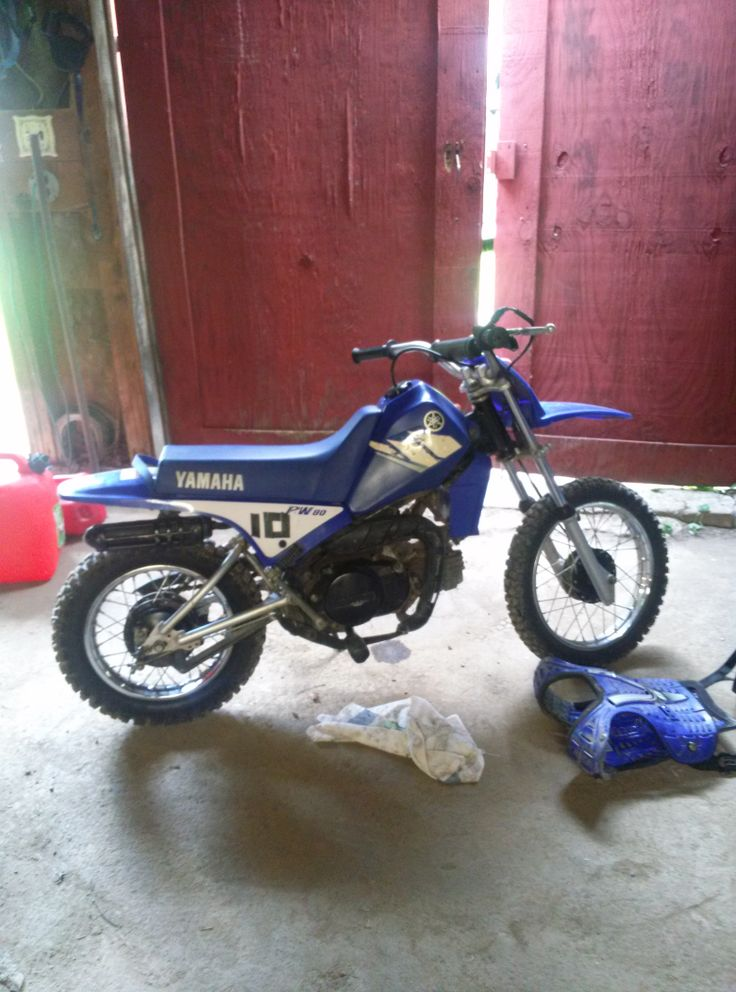I got a new 80cc yamaha dirt bike