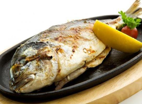 Fırında Pişmiş Deniz Çipura Tarifi - Çipura Tarifleri - Fırında Balık