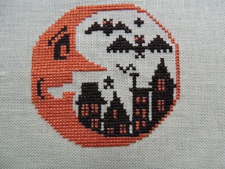 Prairie+Schooler+Pattern+Chart   Boo Moon - The Prairie Schooler