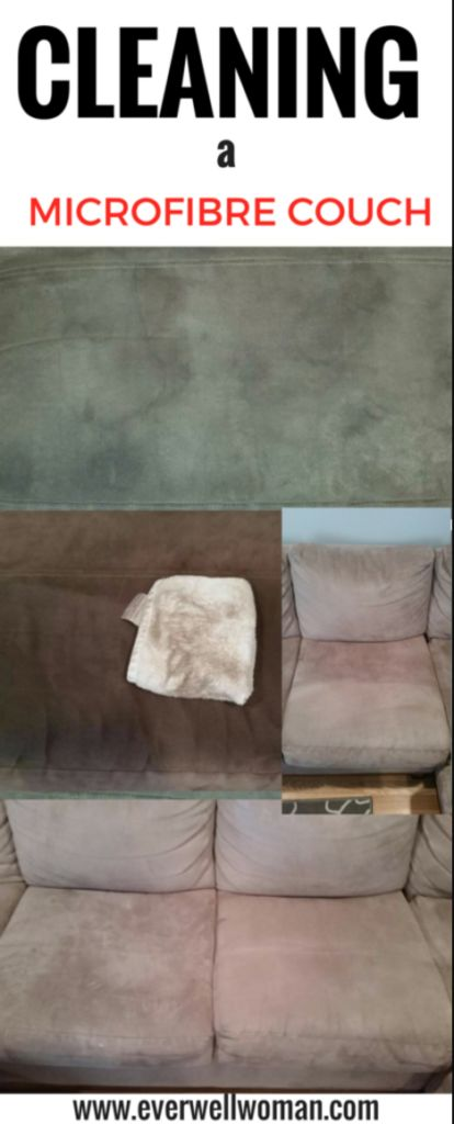 Learn this amazing trick to clean a dirty microfibre couch – Toned Chick