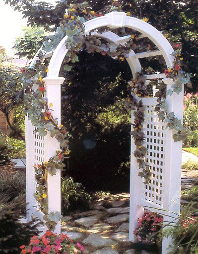 Build a garden arbor