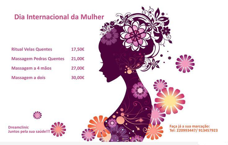 Dia Internacional da Mulher  Hoje comemora-se o Dia Internacional da Mulher, aqui ficam algumas sugestões para mimar a mulher especial da sua vida...