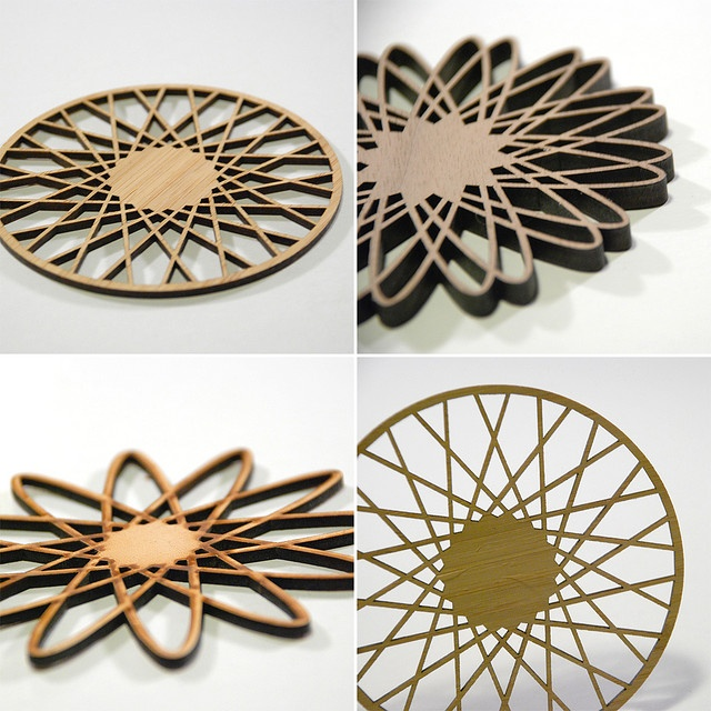 24 best laser cut images on pinterest laser cutting laser cut wood and laser cut invitation - Spirograph clock ...
