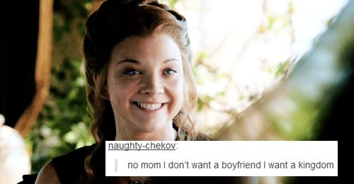 In the life of Margaery Tyrell (from Tumblr)