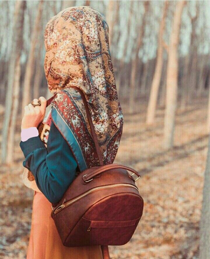 #hijab in forest