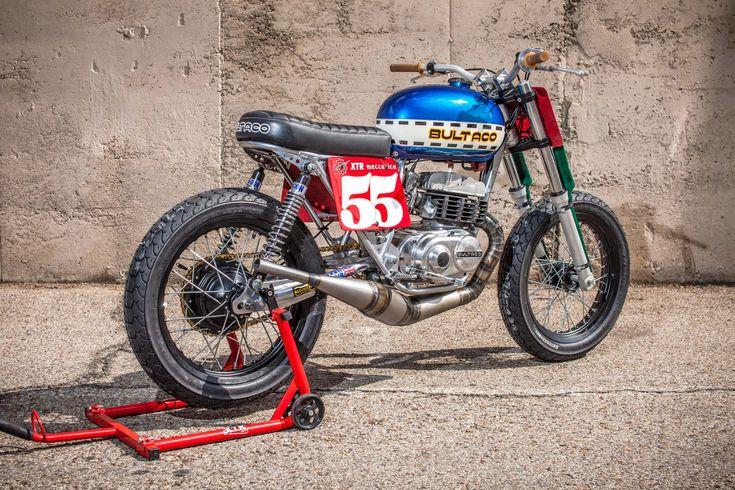 """1973 Bultaco Lobito 125 """"Astro"""" by XTR Pepo #BultacoLobito #CustomMotorcycles #ClassicMotorcycles #XTRPEPO"""
