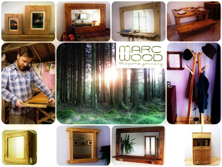 #handmade #furniture from eco friendly #reclaimed and FSC certified #wood in Somerset #UK, contemporary #design and traditional technique, bespoke pieces made to order.