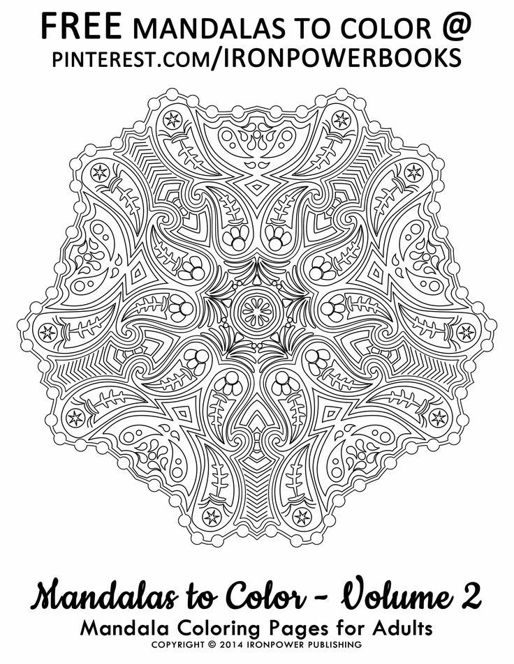 mandala coloring pages for adults free printable pages ironpowerbooks this mandala design is