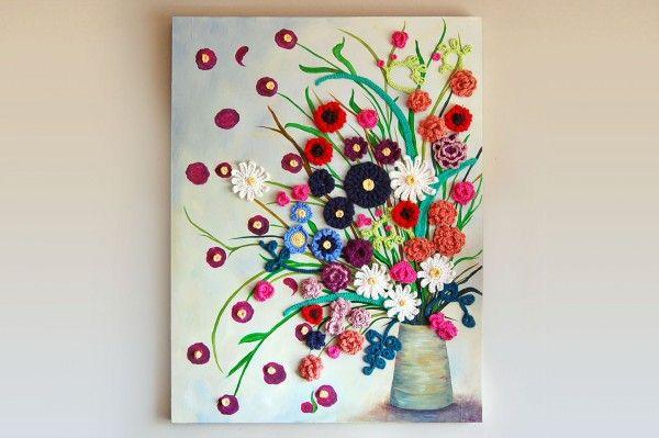 Creative Interview With Crochet Painting Artist Jennifer Cox