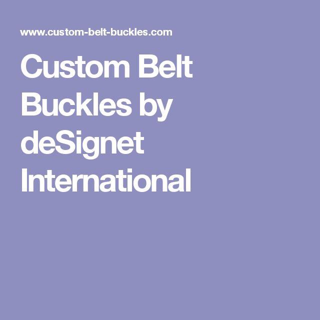 Custom Belt Buckles by deSignet International