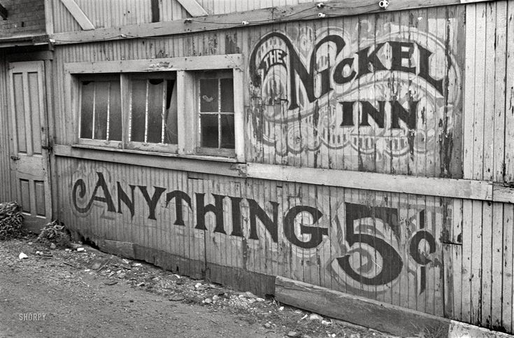 That type! // Shorpy Historical Photo Archive :: Nickel Inn: 1938