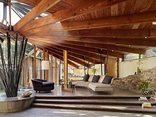 Frank Lloyd Wright's home - Taliesin West in Arizona.