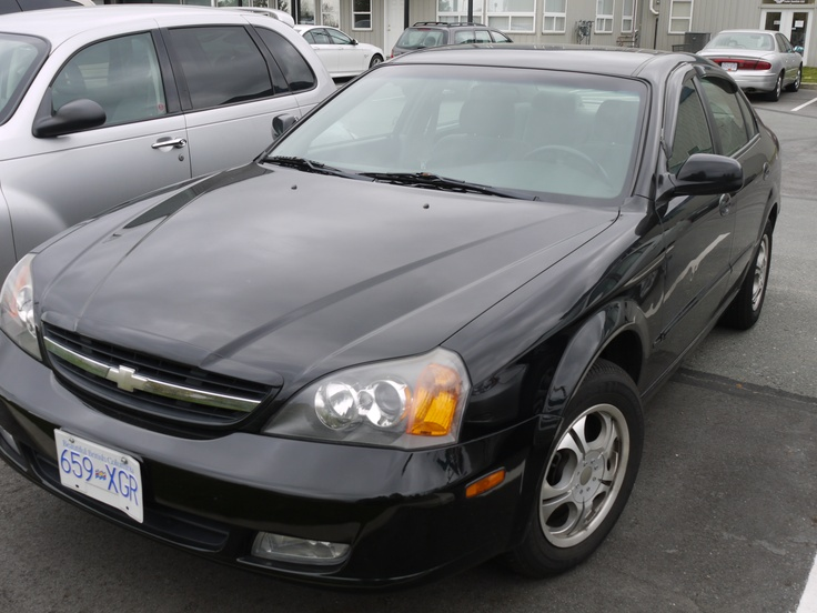 One of our latest #yyj #preowned rental fleet vehicles: A Chevy Epica - fully loaded with air conditioning. Come on in & rent it or one of our other great pre-owned vehicles today!
