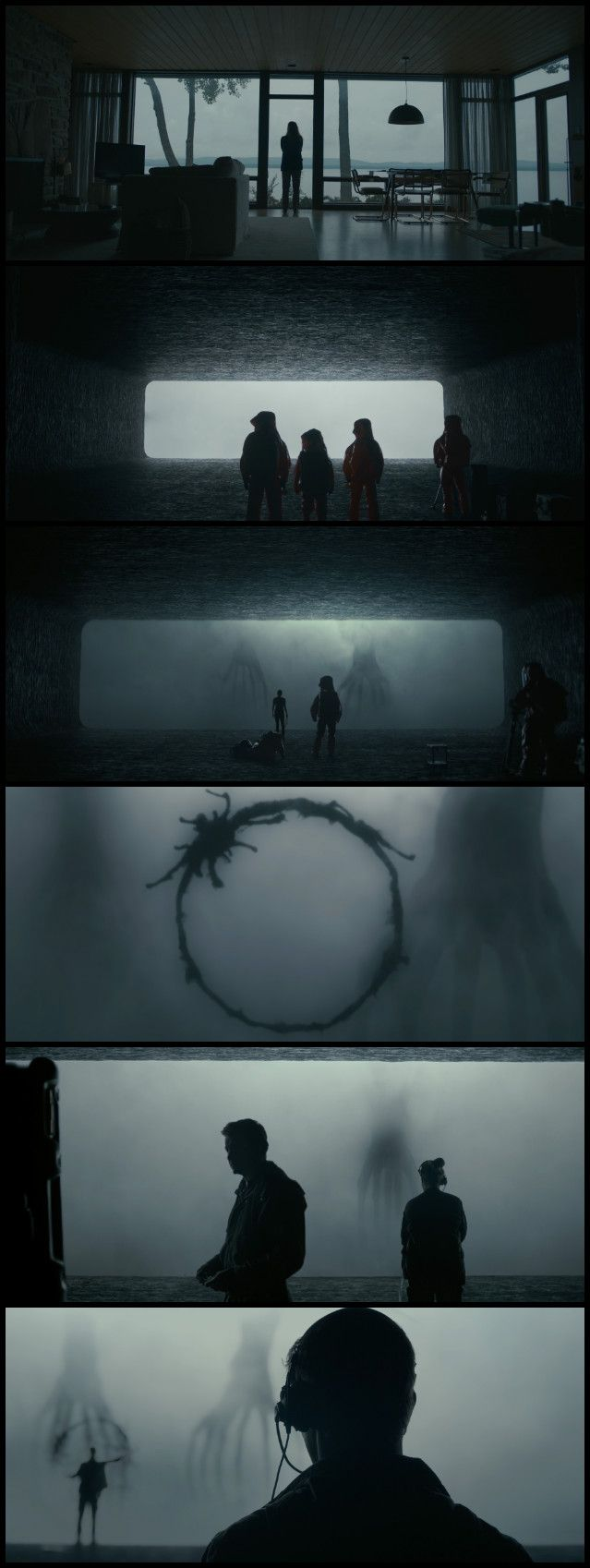 Arrival (2016) Director: Denis Villeneuve. Photography: Bradford Young.- COLOR PALETTE DISCUSSION