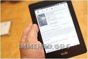 Il mio articolo su www.immenso.org : Paperwhite Kindle di Amazon, tra i migliori ebook reader di sempre