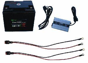 Batterie lithium 24V 20Ah + chargeur + connectique