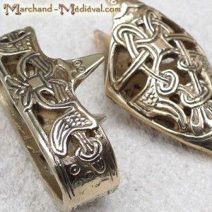 Viking scabbard fittings
