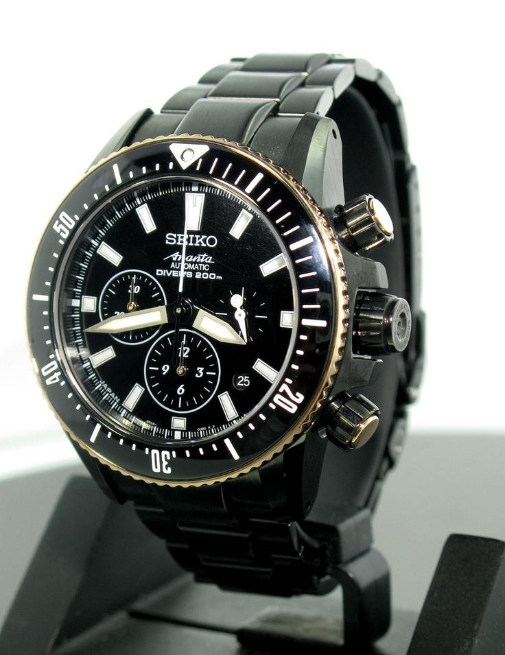 Seiko ananta diver srq013 automatic chronograph limited for Macchina da cucire seiko special