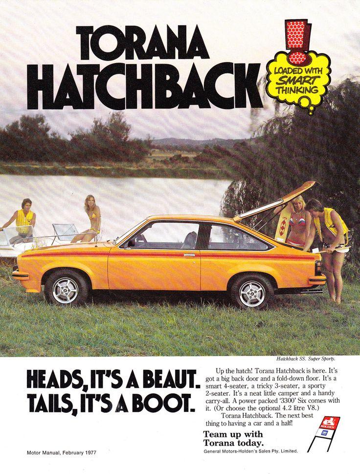 https://flic.kr/p/NhETaB | 1977 LX Holden Torana SS Hatchback Aussie Original Magazine Advertisement