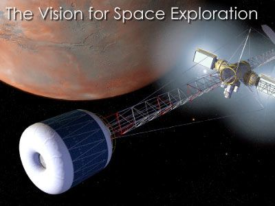 A human mission to Mars has been the subject of science fiction, engineering, and scientific proposals since the 19th century. The plans comprise proposals to land on Mars, eventually settling on and terraforming the planet, while utilizing its moons, Phobos and Deimos.