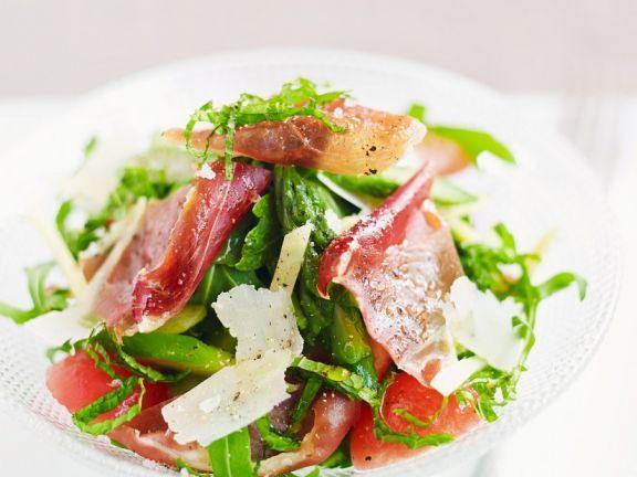 Grüner Spargelsalat ist ein Rezept mit frischen Zutaten aus der Kategorie Fruchtgemüse. Probieren Sie dieses und weitere Rezepte von EAT SMARTER!