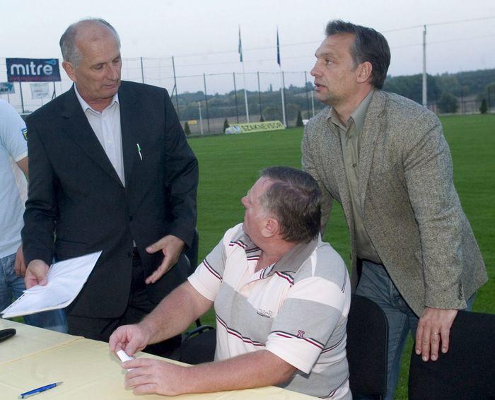 Molnár Csaba; Varga György; Orbán Viktor