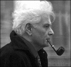 Jacques Derrida (El-Biar, Argelia francesa 15 de julio de 1930 - París, 8 de octubre de 2004)