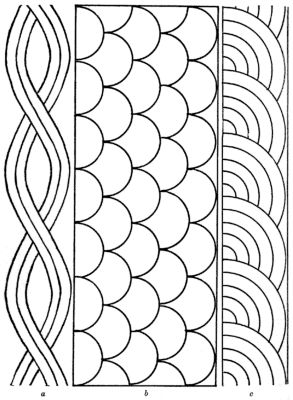 Free Border Templates | Free Quilting Patterns and Designs for Beginners