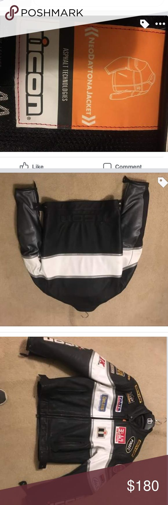 Icon motorcycle jacket Barely worn. Helping my dad sell it. ICON Jackets & Coats Performance Jackets