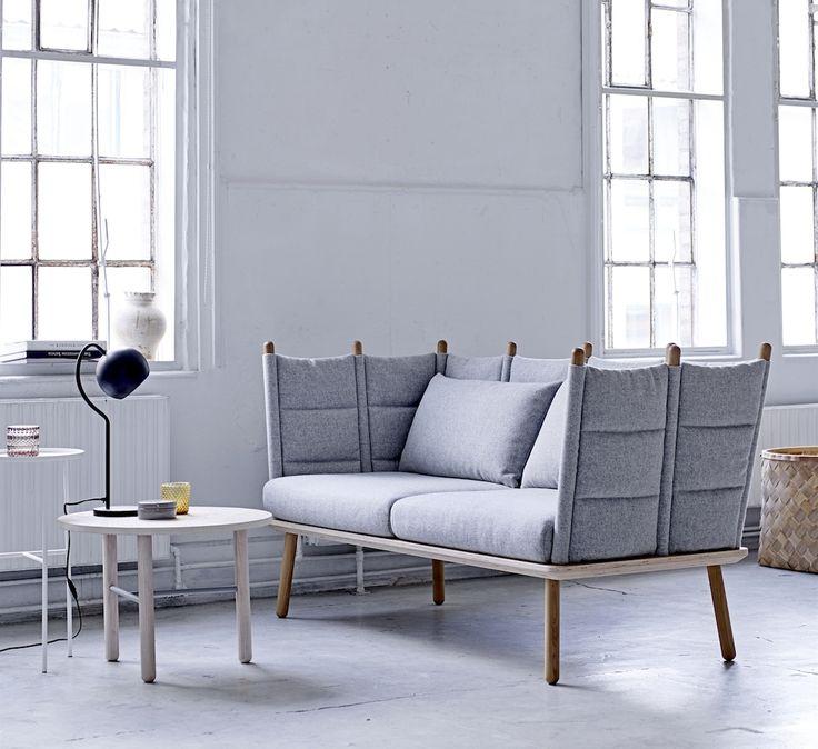 Nora sofa Bloomingville - Gratis fragt. 1 - 3 dages levering til adressen - fuld returret. Indret dit hjem efter de nyeste trends.