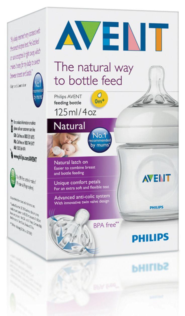 Philips Avent Flaska Natural 125 ml