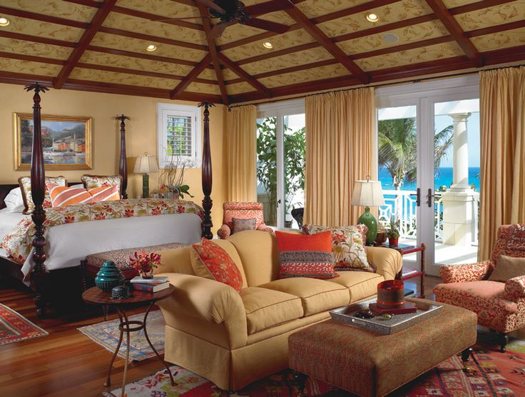 A British Colonial Oceanfront Home With Caribbean And Far Eastern Influences Becomes A Tropical Winter Paradise, North Palm Beach, Florida
