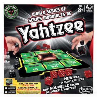 Glimpse: World Series Yahtzee! ~ GIVEAWAY!