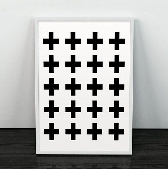 Croce Svizzera Croce geometrica decorazione di ShopTempsModernes