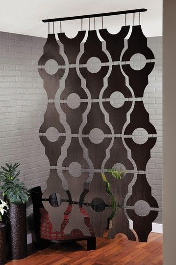 Condo hanging room divider-  Bring your living space to another level with the sophisticated Sotto maximize your home, no matter what size or shape.