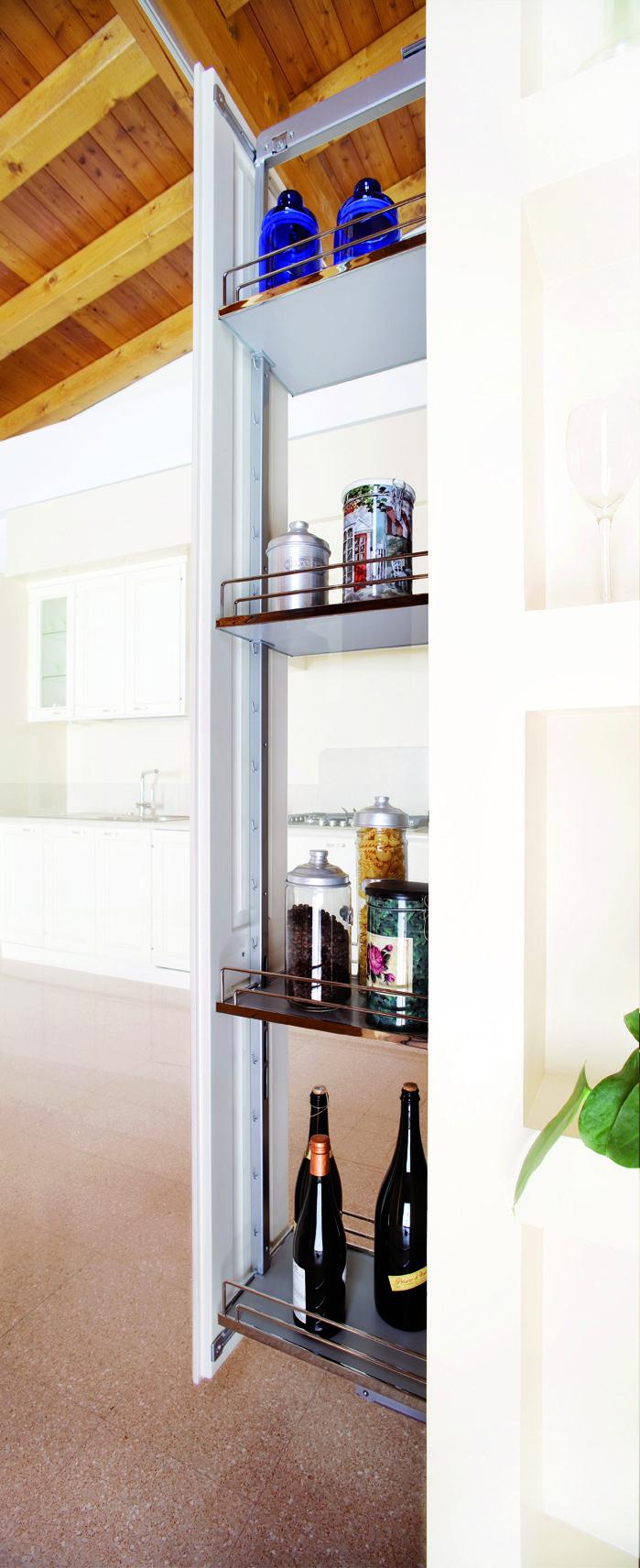dettagli salva spazio per la tua cucina
