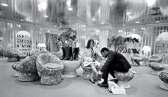 33 best old department stores images on pinterest department store childhood memories and - Bergdorf goodman shoe salon ...