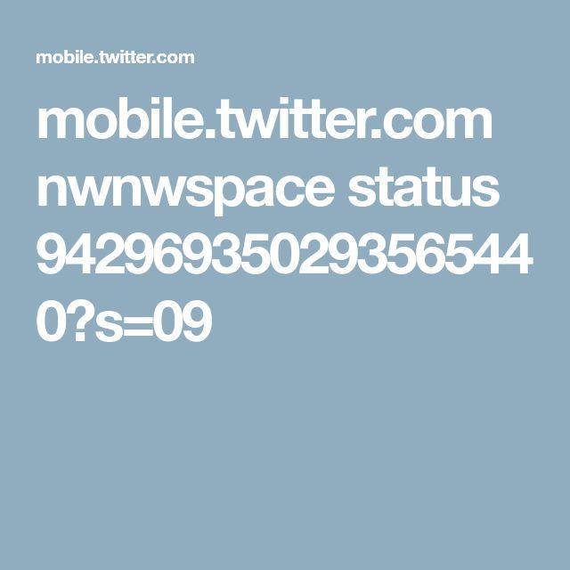 mobile.twitter.com nwnwspace status 942969350293565440?s=09
