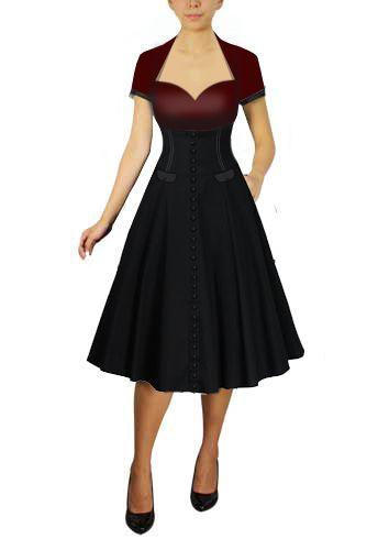 Rockabilly dress-I love this!