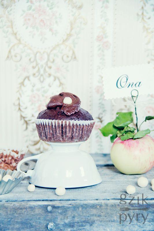 Czekoladowe muffinki według przepisu Nigelli Lawson