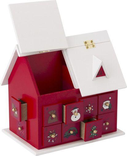 Het aftellen naar #kerst wordt nog leuker met het adventshuis Kerst