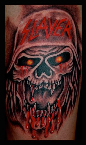 43 best slayer tattoos images on pinterest slayer tattoo tatoo and awesome tattoos. Black Bedroom Furniture Sets. Home Design Ideas