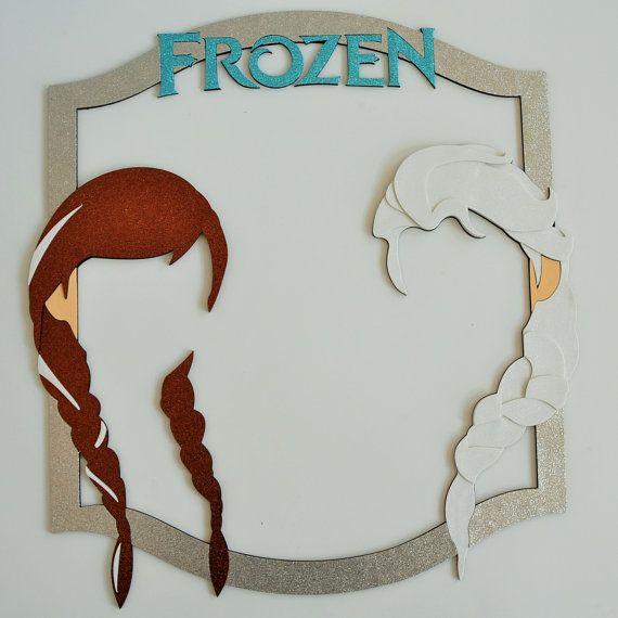 Inspired by Frozen Girls hair winterland winder frozen ana elsa