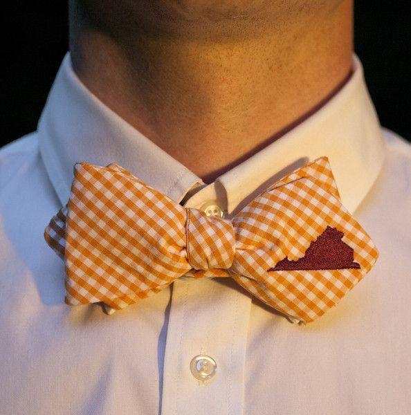 Matt already decided that he's getting this VT bow tie for graduation!
