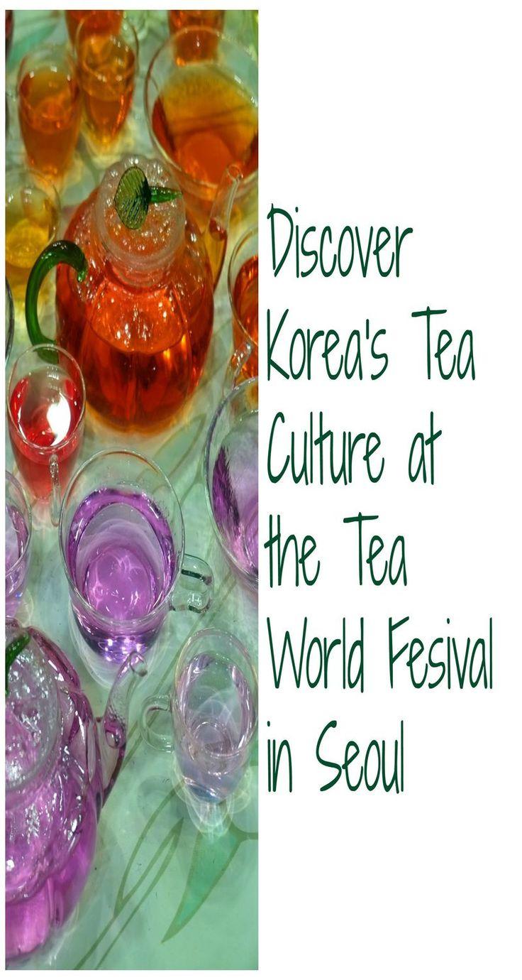 Korea's Tea Culture comes to life at the Tea World Festival in Seoul.