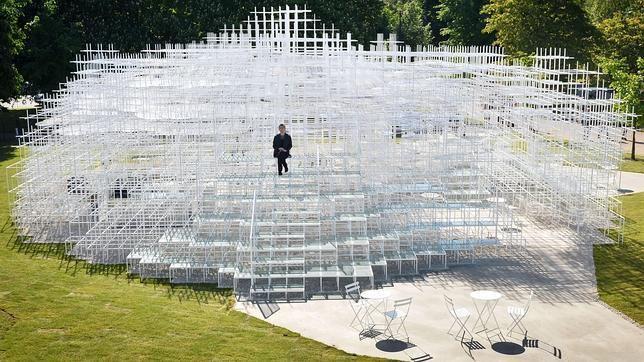 Pabellón de la Serpentine Gallery, proyectado por Sou Fujimoto - Buscar con Google
