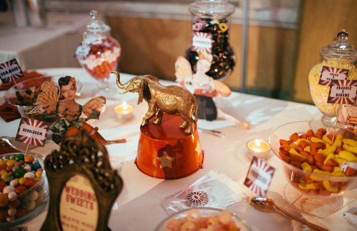 For Heidi...Insane Italian Vintage Circus Wedding: Michelangelo & Francilla