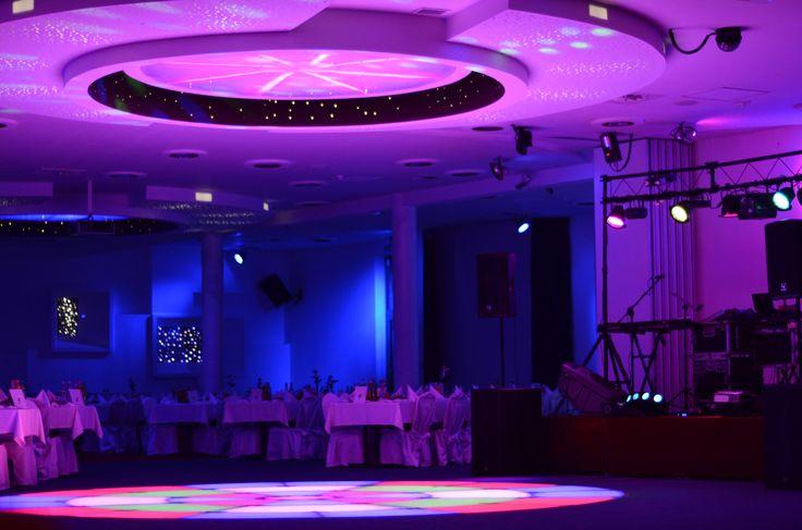 Multimedialna Sala Imprezowa na 500 osób w Hotelu UNIBUS w Bielsku Podlaskim