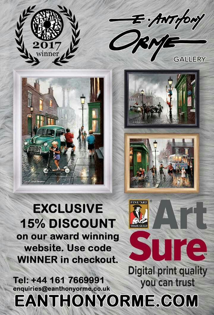 76 best E Anthony Orme gallery picture framing Manchester images on ...